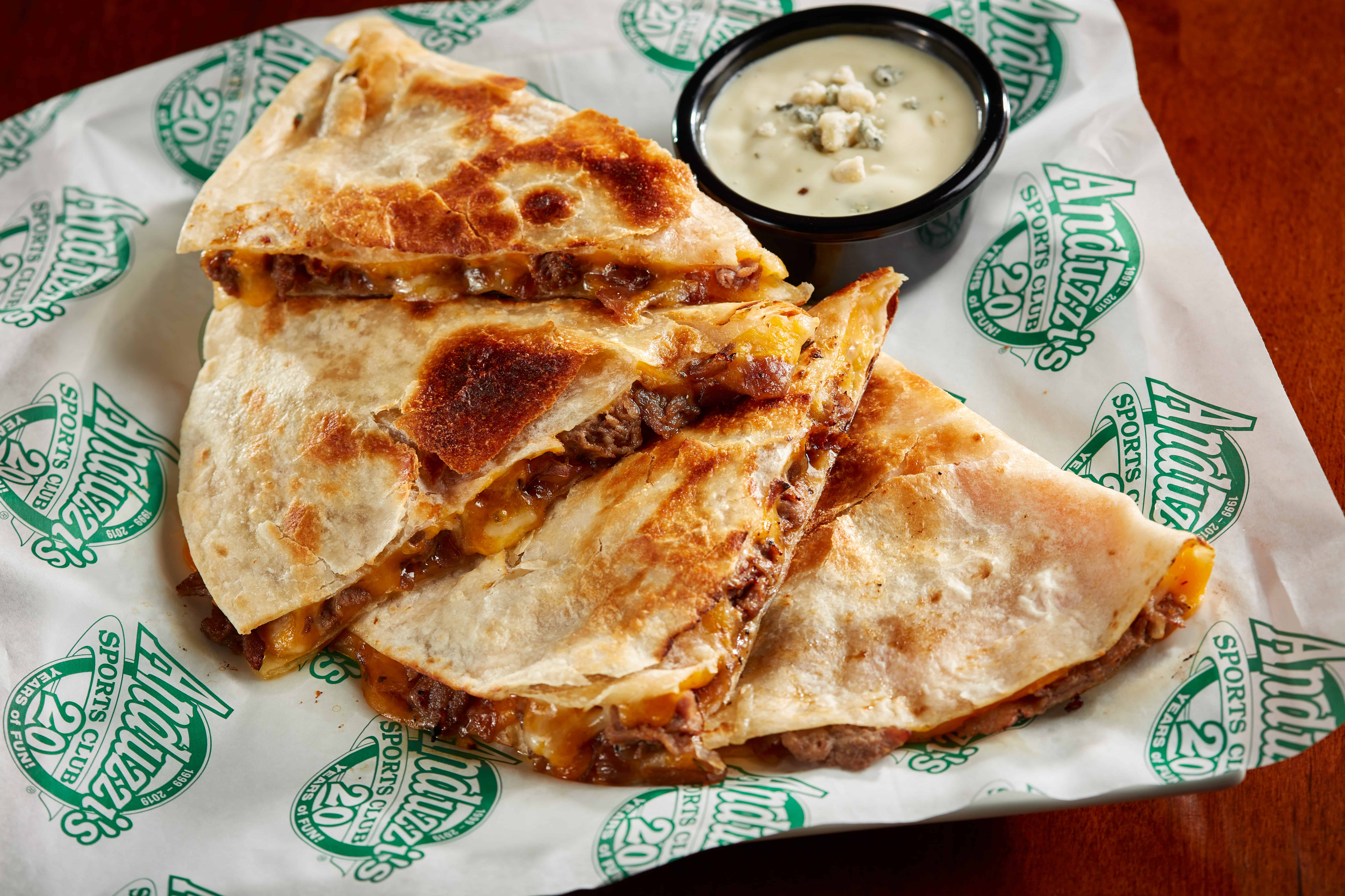 Steak Quesadilla Bonus 3 - Chicken Bacon Ranch Quesadilla