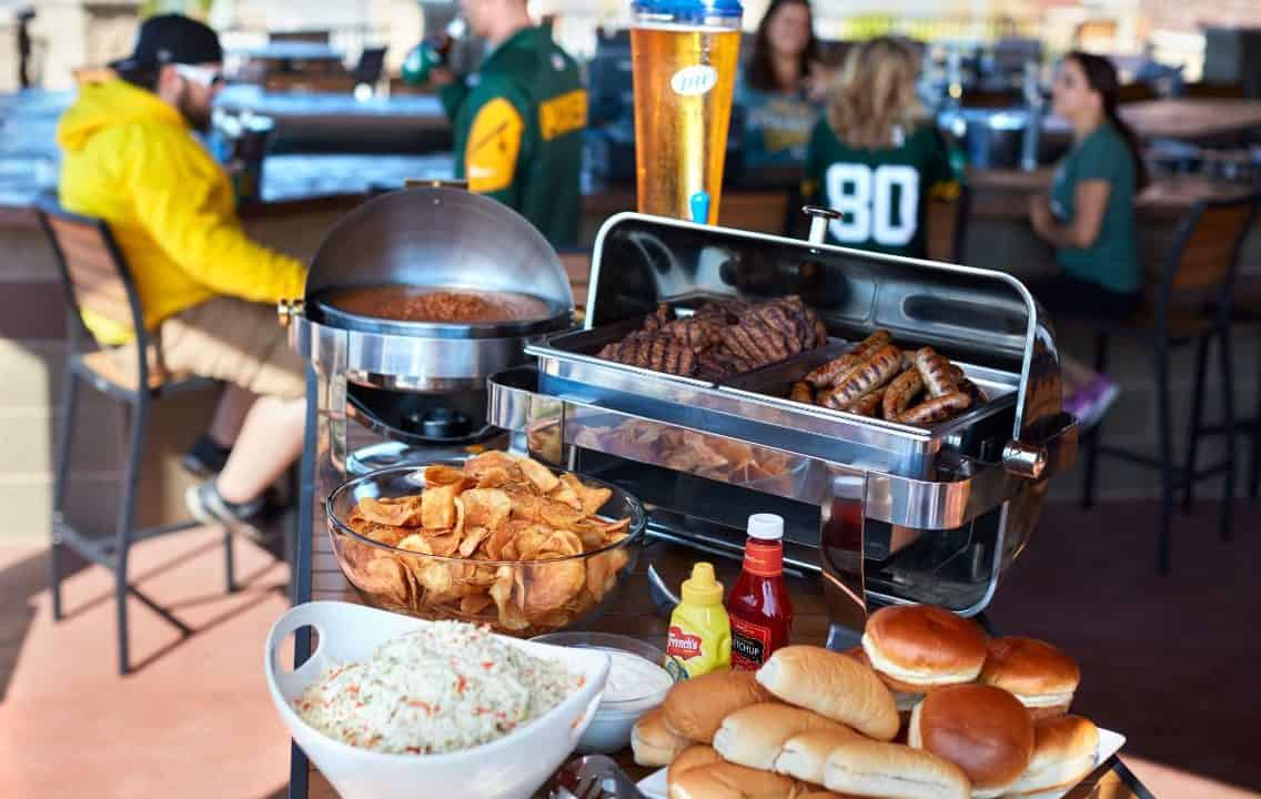 Packers Tailgate Parties