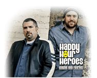 Join us on the patio in Howard to soak in the sounds of Happy Hour Heroes.